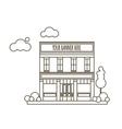 Store Market Icon vector image