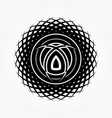 abstract circular 0016 vector image