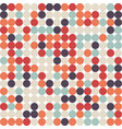 abstract retro vintage seamless pattern background vector image vector image