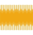 background with wheat ears vector image