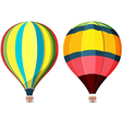 Balloon Hot air High Sky vector image