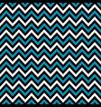 blue black chevron retro decorative pattern vector image vector image