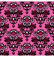 Damask seamless flower pattern vector image vector image