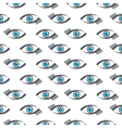 eyes icons pattern vector image vector image