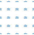 flip flops icon pattern seamless white background vector image vector image