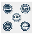 Awesome Badges Template vector image vector image