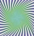 Green purple spiral design background vector image vector image