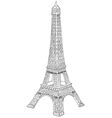 Hand drawn eiffel tower vector | Price: 1 Credit (USD $1)