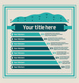 Infographics elements - bar charts line chart
