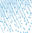 pouring rain vector image
