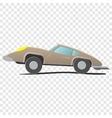 Retro cartoon car vector image vector image