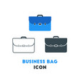 simple business icon of business briefcase in vector image