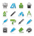 art and painter icons