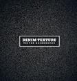 black dark denim texture vector image