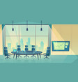 conference hall for business seminar vector image