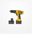 Electric cordless screwdriver image