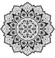 ethnic mandala vector image
