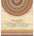 Ethnic Ornament and Texts for Background Design