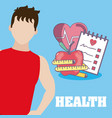 healthy people lifestyle vector image