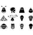 ICONS ALIENS vector image