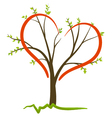 love tree concept vector image