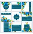 Modern templates for square brochure cover vector image vector image