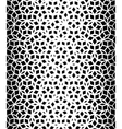 Seamless Black And White Pentagon Pattern vector image vector image