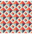 Abstract seamless geometric pattern Retro vector image vector image