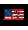 American text flag - made in usa
