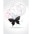 Beautiful butterfly art vector image vector image