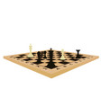 chess table vector image