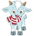 Christmas goat symbol 2015 vector image vector image