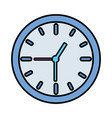 clock time icon vector image vector image