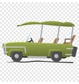 Electra golf car vector image