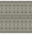 hand drawing ethnic pattern vector image vector image