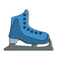 ice skate symbol vector image vector image