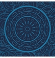 mandala doodle seamless pattern Circle vector image