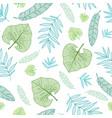 pastel tropical drawing summer hawaiian vector image vector image