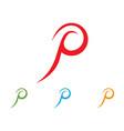 pen write sign logo template app icons vector image vector image