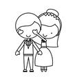 Couple of newlyweds character