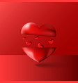 happy valentines day artwork background vector image vector image