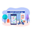 modern mail concept vector image vector image