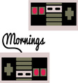 Mornings vector image vector image
