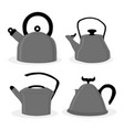 teapot vector image vector image