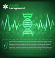 bright medical background vector image