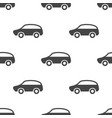 car seamless pattern vector image