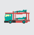 car transporter icon set of great flat icons for vector image