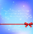 christmas greeting wishes vector image