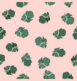 coriander hand drawn seamless pattern vector image vector image