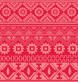 pink native american ethnic pattern vector image vector image
